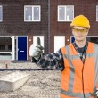Satisfied construction worker — Stock Photo #2089546