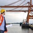 Harbor Inspection - Foto de Stock