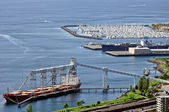 Seattle harbour view — Stock Photo
