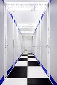 Data Center Aisle — Stockfoto