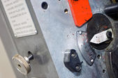 Printing press controls — Stock Photo