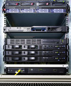 Server configuration — Stock Photo