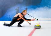 De curling — Photo