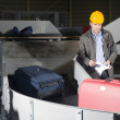 Luggage check at the Airport — Stock Photo #2090207