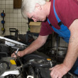 Stock Photo: Car mechanic