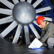 Windtunnel engineer - Stockfoto
