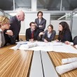 Architect cubicle — Stock Photo #2098677