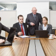 Foto Stock: Boardroom meeting