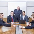 Stock Photo: Board Meeting