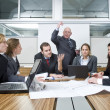 Stock Photo: Business Disagreement