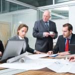 Design team meeting — Stock Photo