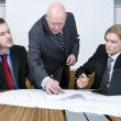 Interfering boss — Stock Photo