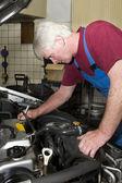 Mecânico de automóveis — Fotografia Stock