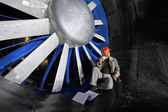Windtunnel engineer — Stock Photo