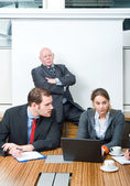 Business contempt — Stock Photo