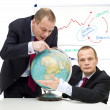 Expanding markets globally — Stock Photo #2101402