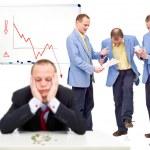 Unhappy employees — Stock Photo #2102616