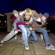 aggression — Stockfoto