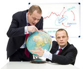 Expanding markets globally — Stock Photo