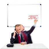 Onmiddellijke actie vereist — Stockfoto