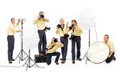 Photo crew — Stock Photo