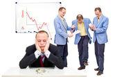 Unhappy employees — Stock Photo