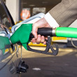 Getting gas — Stock Photo
