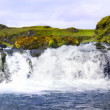 Landmannalaugar waterfall - Stockfoto