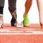Бизнес является верхний спорт — Стоковое фото