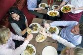 Restaurant dinner — Stock Photo