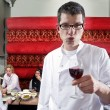 Stock Photo: Wine waiter