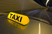 Tunnel Taxi — Stock Photo