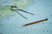 Navigation set — Stock Photo