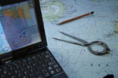 Modern navigation set — Stock Photo