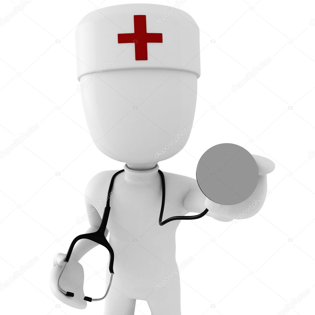 3d man doctor — Stock Photo #2079009