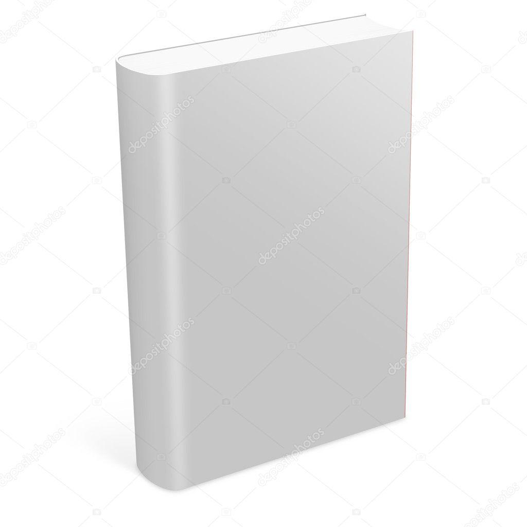 3d book with blank cover stock photo digitalgenetics 2401631
