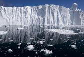 Glacier face — Stock Photo