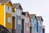 Colorful houses — Foto Stock