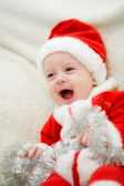 Christmas boy — Stock Photo