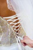 Wedding dress — Foto Stock