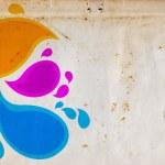 Print abstract — Stock Photo