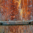 Rusty metal plate - Stock fotografie