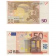 50 Euro Banknotes Pile — Stock Photo