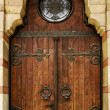 Church doorway — Stock Photo