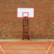 Royalty-Free Stock Photo: Basketball Court