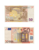 50 Euro Banknotes Pile — Stock Photo