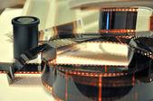 Photo film and cases — Stock Photo