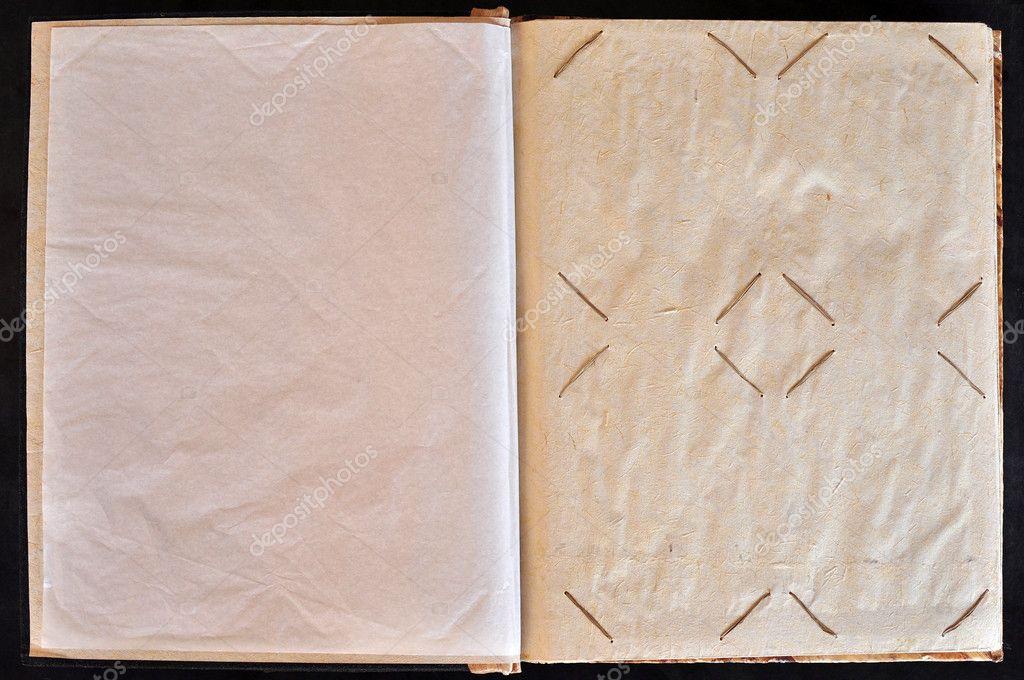 Photo Album Page Page of a Photo Album