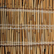 Mat of reeds. Background - Stock Photo