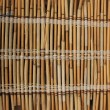 Mat of reeds. Background — Stock Photo